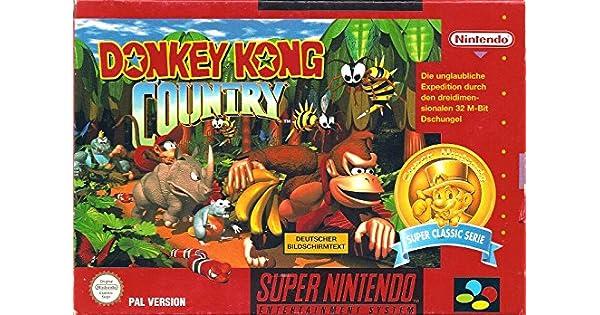 Donkey Kong Country Super Nintendo: Amazon.es: Videojuegos
