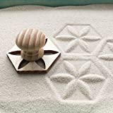 Mini Zen Garden Sand Stamps, Set of 8, for Relaxation and Meditation