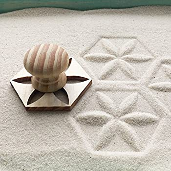 Beau Mini Zen Garden Sand Stamps, Set Of 8, For Relaxation And Meditation