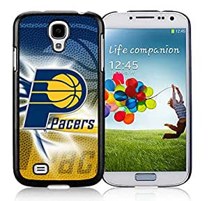 New Custom Design Cover Case For Samsung Galaxy S4 I9500 i337 M919 i545 r970 l720 Indiana Pacers 2 Black Phone Case