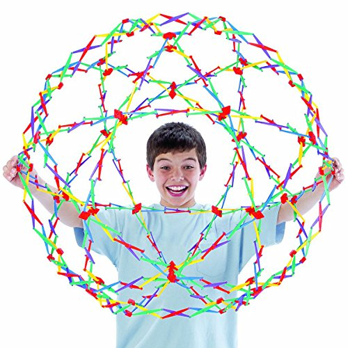 TEDCO Hoberman Sphere - Rainbow Science & Nature for Ages 4 to 12
