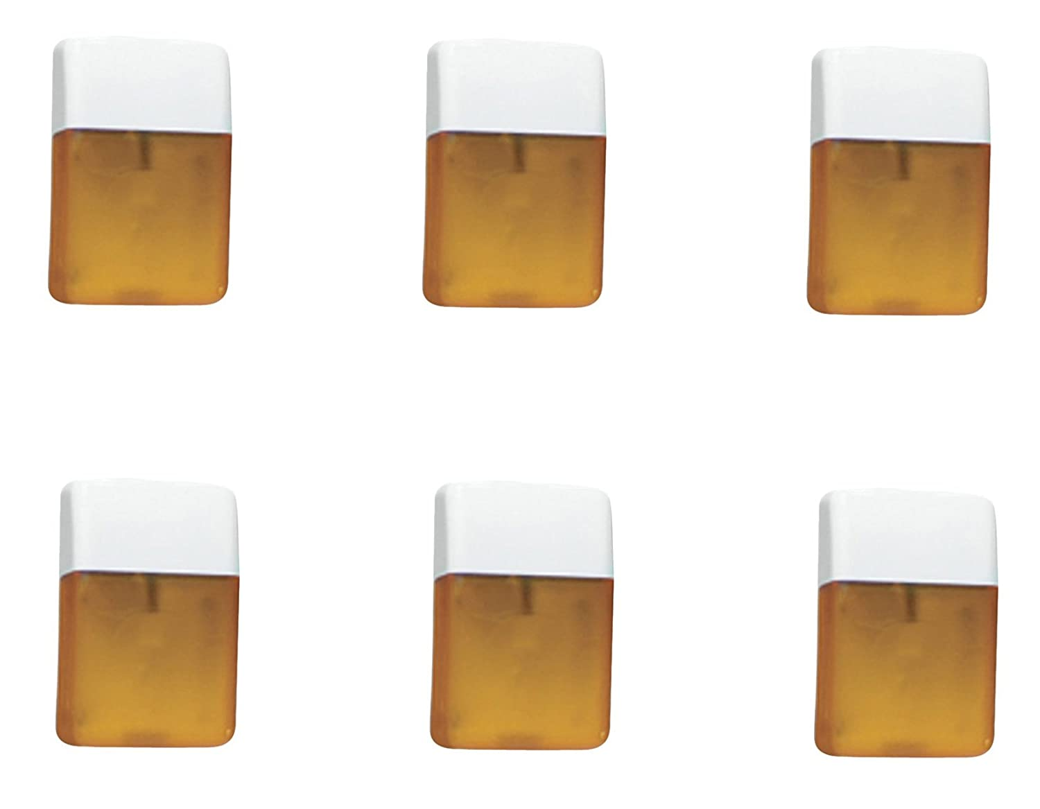 Fasteners Unlimited 89-207A Amber Replacement Lens for Command Star Porch Light