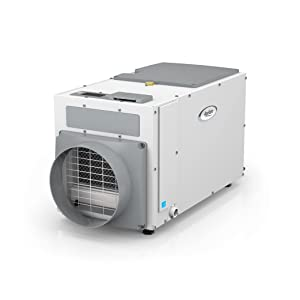 Aprilaire E100 Pro 100 Pint Dehumidifier for Crawl Spaces, Basements, Whole Homes, Commercial up to 5,500 sq. ft.