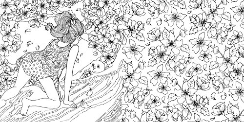 The Time Garden A Magical Journey And Coloring Book Adult