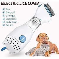 Sandistore Automatic Head Lice Treatment - Allergy&Chemical Free Head Lice Treatment - Electric Head Lice Comb - Out Performs Other Head Lice Combs and Lice Shampoo - Removes Lice and Eggs