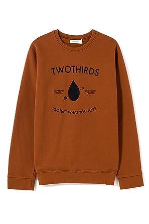 TWOTHIRDS Sudadera para Hombre - 100% algodón orgánico - Mabul (Large)