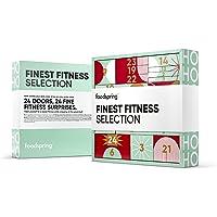 foodspring Adventskalender 2021, Fine Fitness Selection, 1720 g, 24 deurtjes, 24 fijne fitnessverrassingen: voor een…