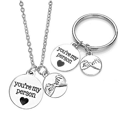 Amazon.com: 2pc You Are My persona Encanto Colgante Collar W ...