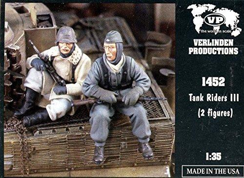 Verlinden Productions 1:35 Tank Riders III - 2 Resin Figures Kit #1452 (35 Verlinden 2 Figure)