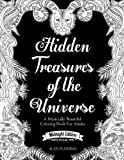 Hidden Treasures Of The Universe: Midnight Edition: A Mystically Beautiful Coloring Book For Adults