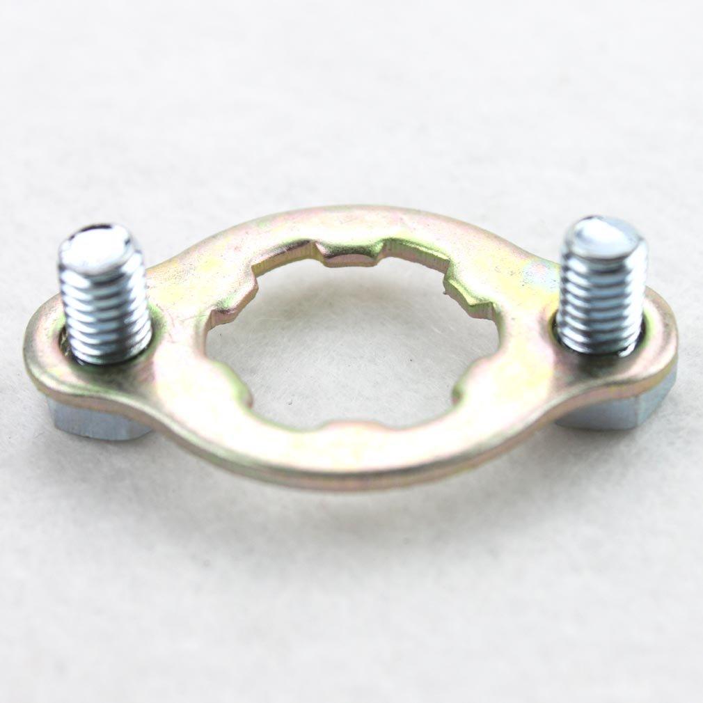 goofit 20/mm motor Pi/ñ/ón Retenedor conjuntos de placa para 50/cc 70/cc 90/cc 110/cc 125/cc 150/cc 200/cc 250/cc ATV Dirt Bike Go Kart Pit Bike
