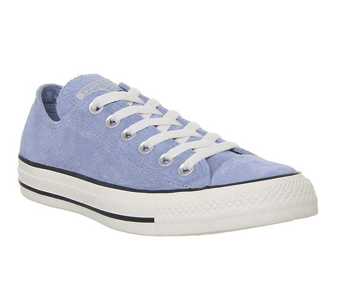 Converse Chucks Chuck Taylor All Star Low Top Sneaker Damen Herren Unisex Hellblau (Indigo Fog)