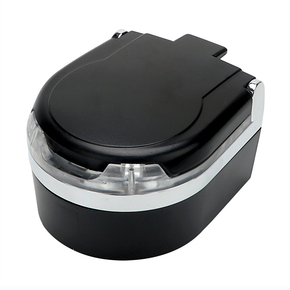 Voiture Cendrier fumé e Porte-gobelet LED de voiture Cendrier cigare Noir Holdream