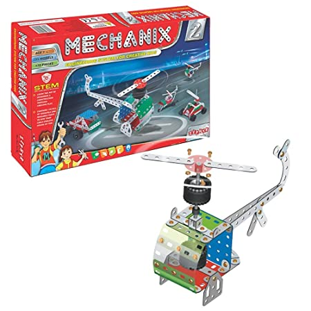 MECHANIX - 2 DIY, Construction toy,Building blocks,Educational toys,for 6+ yrs boys and girls,