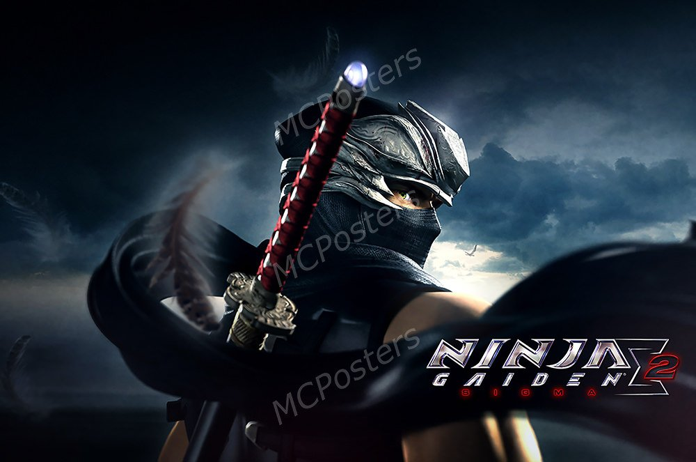 Amazon.com: PremiumPrintsG - Ninja Gaiden Sigma 2 Ryu ...