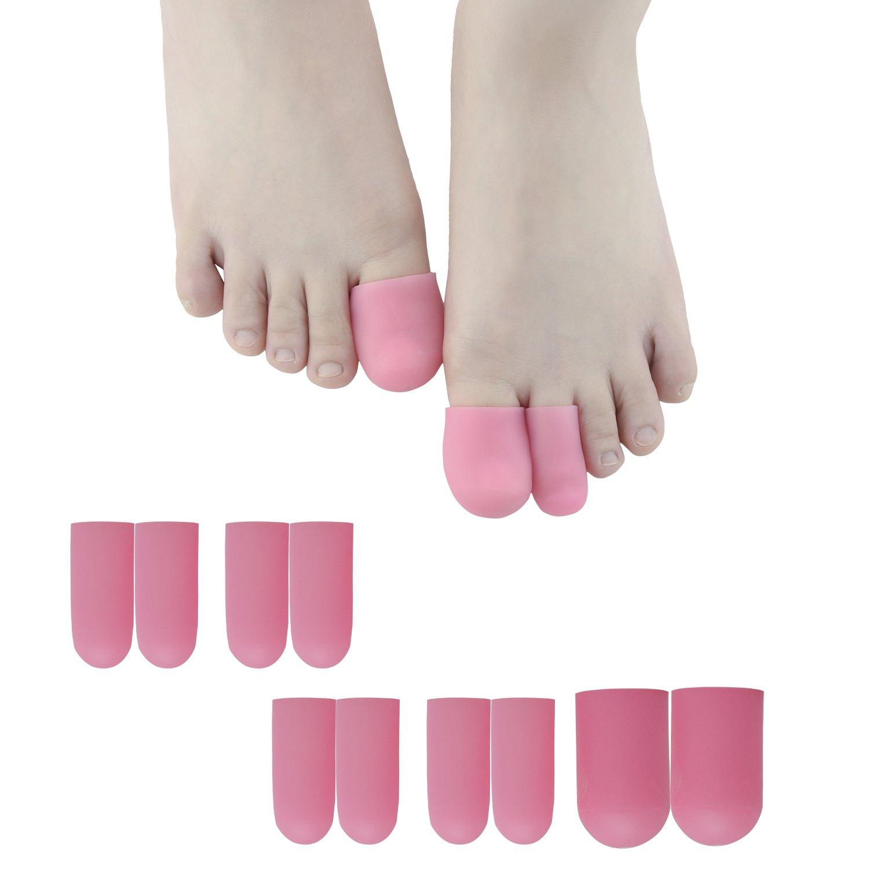 Sumifun silicone piedi, gel per dita Bunion toe Pads toe sleeves- piede callo Remover & Bunion calli e vesciche