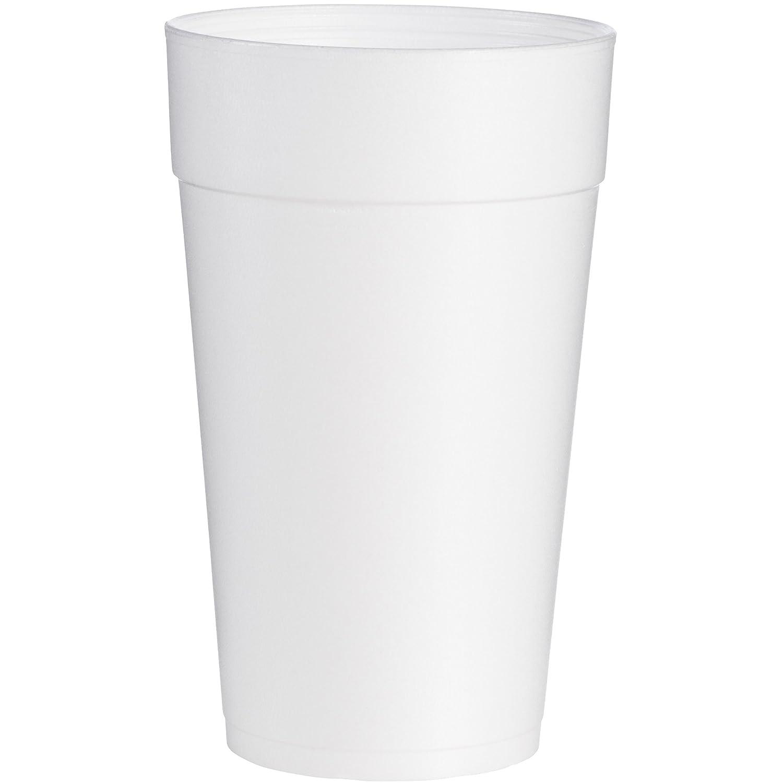 Dart 44TJ32 Conex Foam Cup, 44 oz., Hot/Cold, White, 20 per Bag (Case of 15 Bags)
