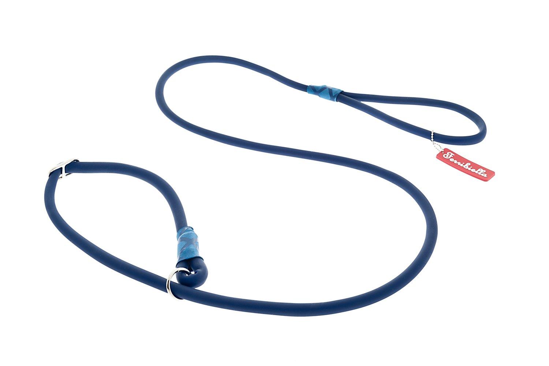 Ferribiella HI724-B Fun Silicon Leash Plus Collar, 1 x 165 cm, M ...