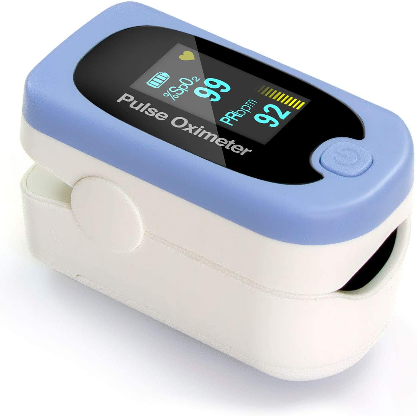HealthSmart Pulse Oximeter Blood Oxygen  Monitor