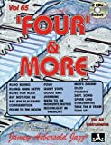 Vol. 65, 'Four' And More (Book & CD Set) (Play-a-long With B3 Organ)