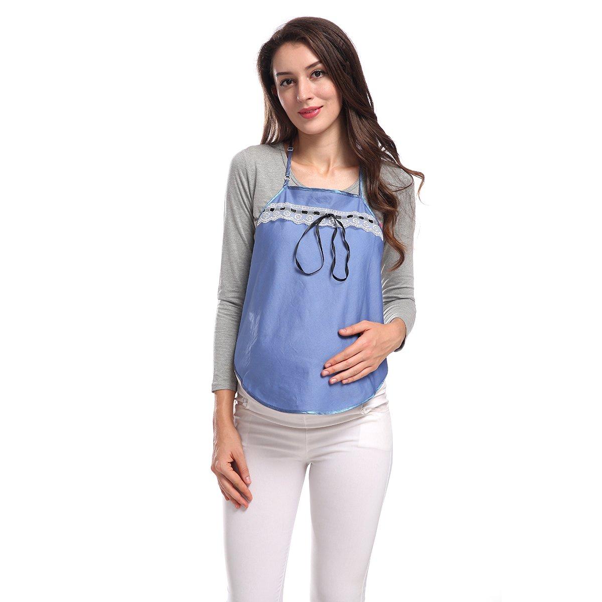 Fibra di metallo anti-radiazioni maternità vestiti Camisole serbatoio grembiule SH003