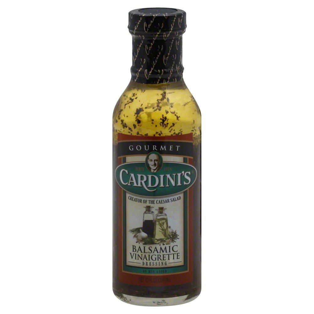 Cardini Dressing, Balsamic Vinaigrette, 12 Ounce (Pack of 6)