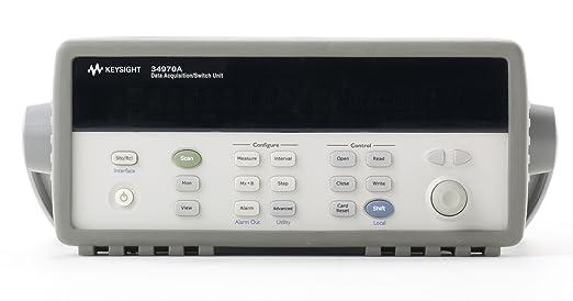 Amazon.com: keysight Tecnologías 34970 una unidad de ...