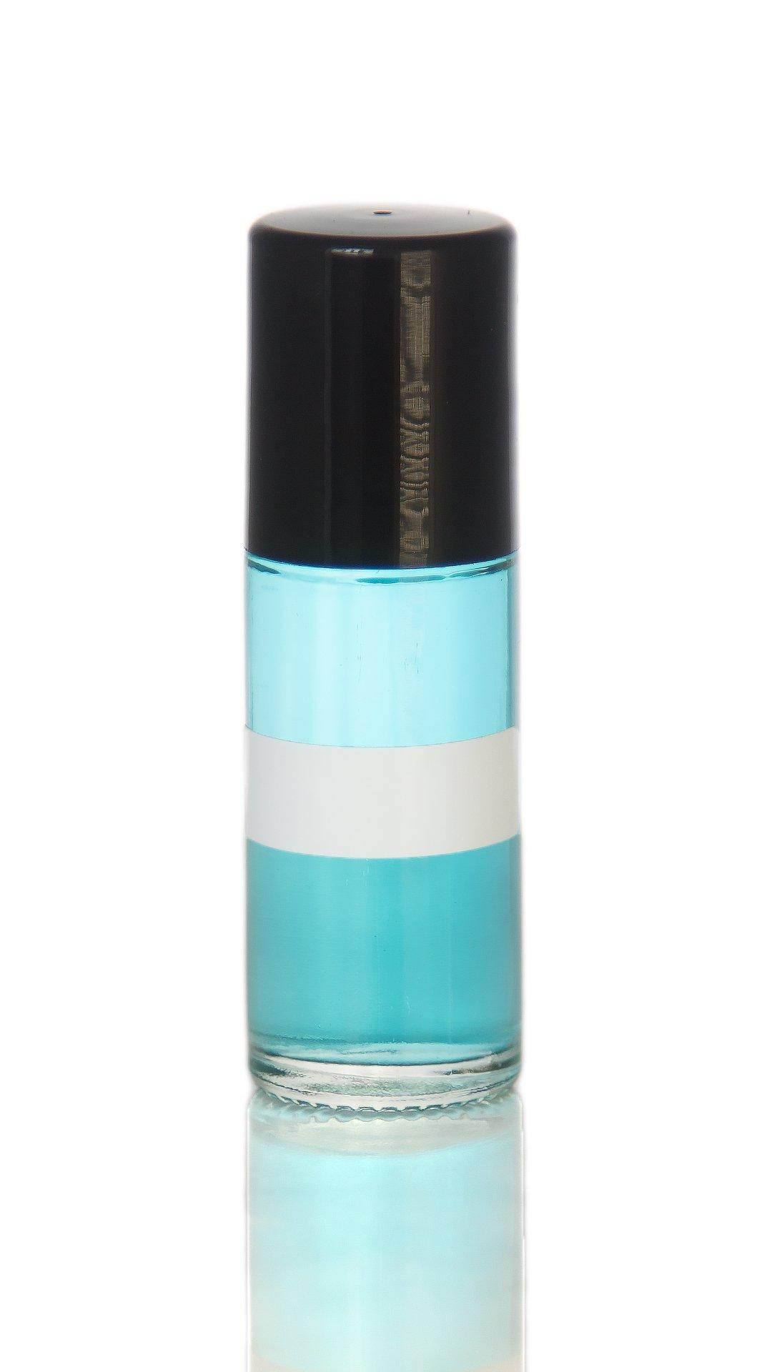 FragranceBodyOilz Impression of Light Blue By Dolce & Gabbana (Roll On) for Women Premium Hypoallergenic Perfume Body Oil, Affordable Generic Version … (1 OZ)