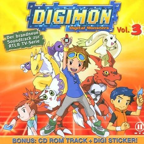 Digimon Digital Monsters Vol.3: Original TV Soundtrack: Amazon.es: Música