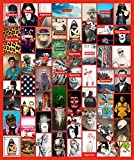 #6: Supreme Laptop Stickers 107 Pack Vinyl Sticker Graffiti Decal Skateboards Luggage Cars Bumpers Bikes Motorcycle Helmet Window Guitar Snowboard Stickers