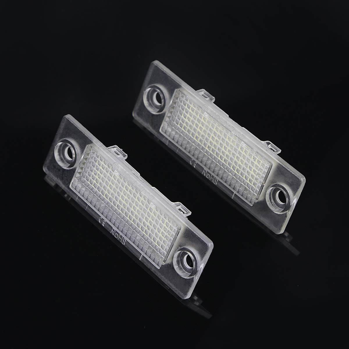 DONGMAO Luces de matr/ícula 18 LED N/úmero de matr/ícula Luces Luces de la l/ámpara para V//W T//ransporter T5 C//addy T//Ouran G//olf P//assat