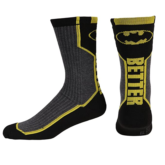 Crew - Calcetines - DC Comics - Batman - Active texto New cr2un4btm: Amazon.es: Ropa y accesorios