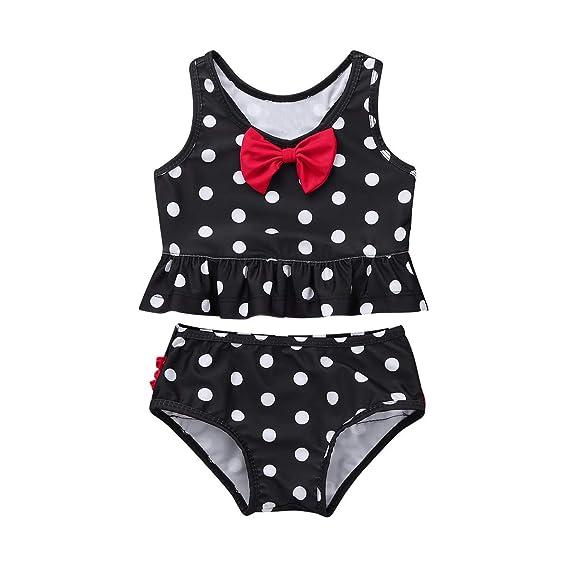 6f2911331d183 iiniim 2PCS Baby Girl Swimsuit Swimwear Bathing Suit Toddler Kid Rash Guard  Bikini Set UPF 50+ UV: Amazon.co.uk: Clothing