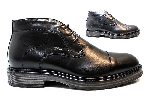 Nero Giardini P705511U Nero e Blu Polacchine Scarpe Uomo Fashion   Amazon.it  Scarpe e borse 92b29e9a64b