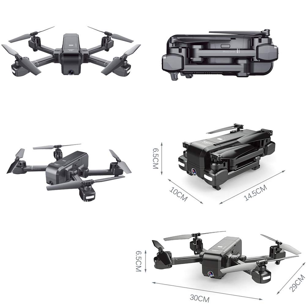 Cywulin RC Quadcopter Drone 1080P HD 5G WiFi FPV Camera Live Video, Brushless Motor, GPS Return Home, Follow Me, Long Control Range, Intelligent Modular Battery with Carrying Backpack (Drone+Backpack) by Cywulin (Image #3)