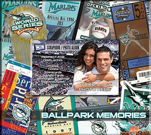 MLB Florida Marlins 8x8 Scrapbook Photo Album