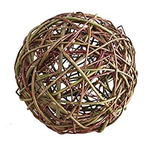 Bola de sauce (aprox. 25cm de mimbre decorativa (