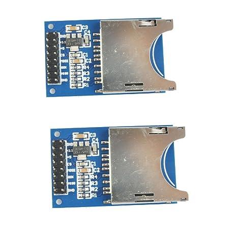 DIYMall ranura para módulo de tarjeta SD Módulo Socket ...