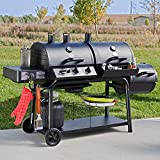 Trio Gas/charcoal/smoker Grill