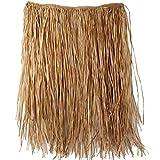 Amscan Hawaiian Summer Luau Party Adult Hula Skirt (1 Piece), Brown, 31.5 x 7.3/X-Large