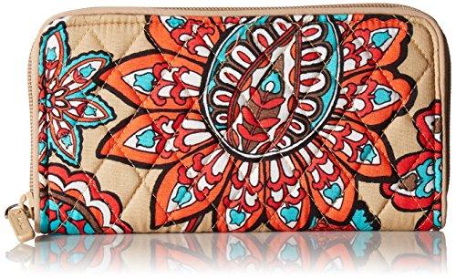 Vera Bradley RFID Georgia Wallet, Signature Cotton, Desert Floral