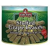 Sultan Vegetarian Stuffed Grape Leaves, 2 KG