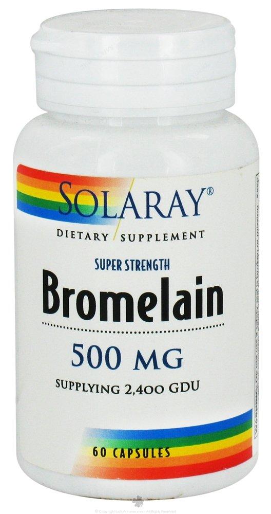 Solaray Bromelain 500mg 60 Caps