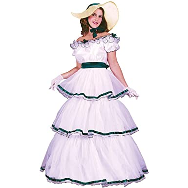 Southern Belle Costume - Small/Medium - Dress Size 2-8  sc 1 st  Amazon.com & Amazon.com: Southern Belle Costume - Small/Medium - Dress Size 2-8 ...
