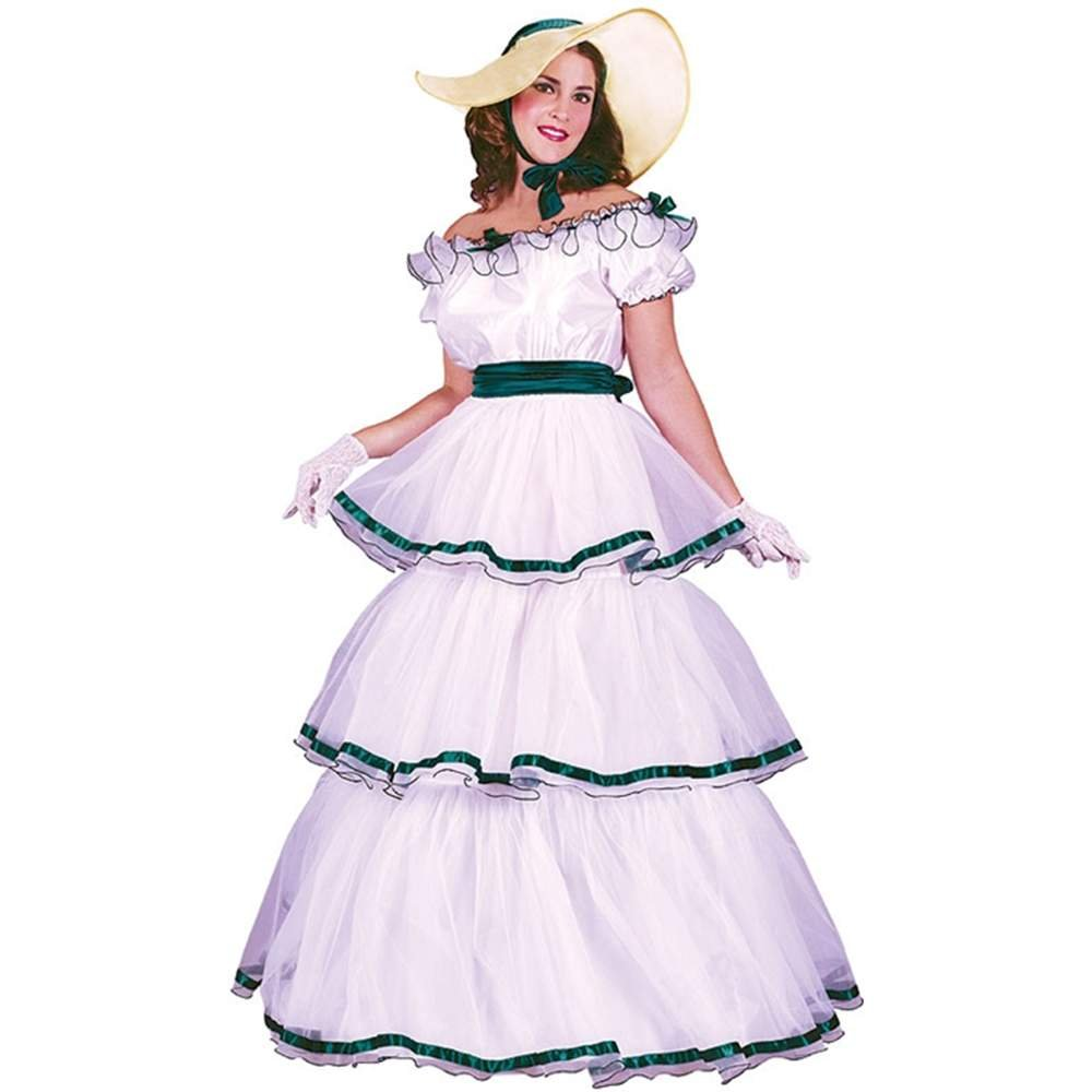 Amazon.com Southern Belle Costume - Small/Medium - Dress Size 2-8 Clothing  sc 1 st  Amazon.com & Amazon.com: Southern Belle Costume - Small/Medium - Dress Size 2-8 ...