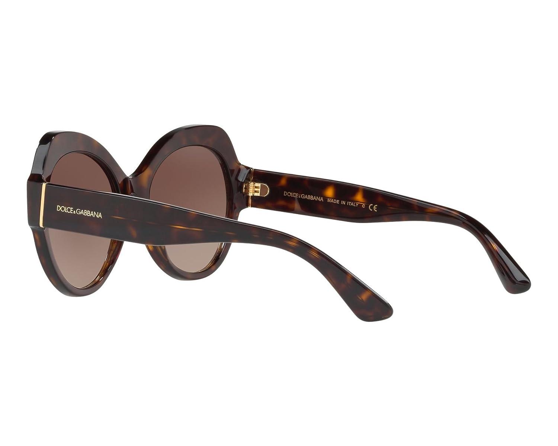 8412dbe013 Amazon.com: Sunglasses Dolce & Gabbana DG 4320 502/13 HAVANA: Clothing