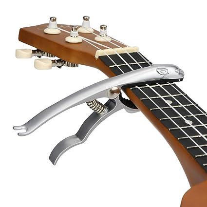 Hidear B12 Capo - Cejilla para guitarra acústica y eléctrica ...