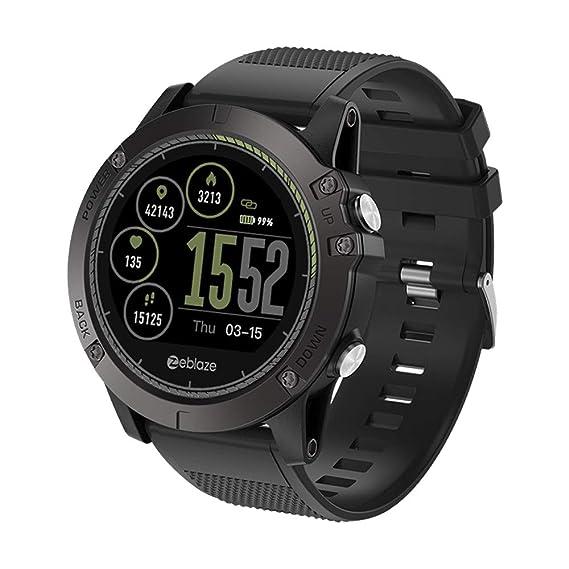 Zeblaze Vibe 3 HR Smartwatch, Fitnesstracker, Reloj de Pulsera con ...
