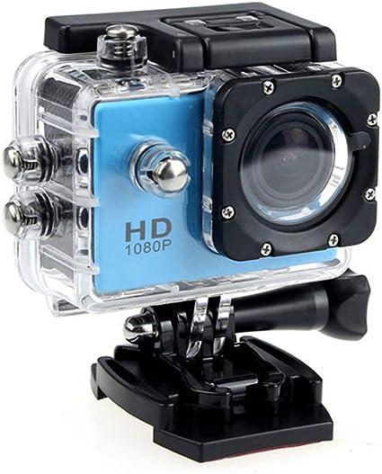 Sj4000x Action Cam Huhu833 4k Action Kamera Unterwasserkamera 140 Ultra Weitwinkel Full Hd Sports Kamera Mit 12mp 2 Zoll Lcd Bildschirm Unterwasser 30m Wasserdicht Blau Sport Freizeit