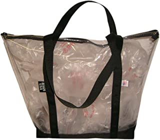 product image for Clear Beach Tote, Transparent Tote,Pink Tote,Beach Tote,Airport Security (Black)